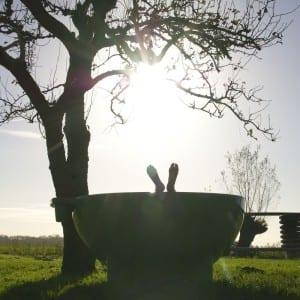 Dutchtub® houtgestookt buitenbad van Onder den Peerenboom