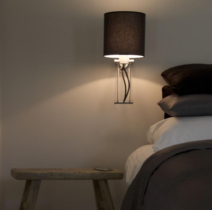 Slaapkamer in appartement Rootland bij bed en breakfast Onder den peerenboom