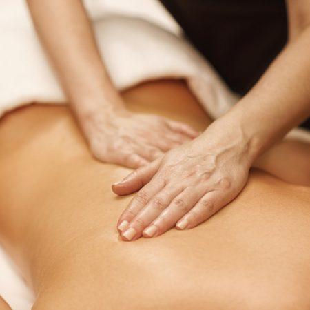 Rugmassage bij kamers te boeken