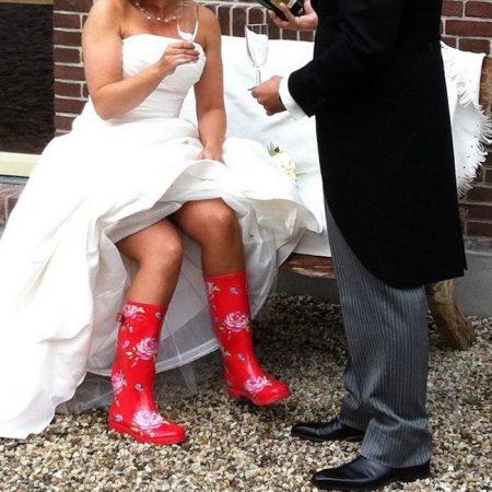 Huwelijks arrangement bij de kamers